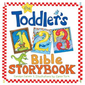 Toddlers 123 Bible Storybook Hb