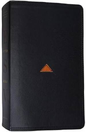 ESV Study Bible: Classic Black, TruTone Imitation Leather
