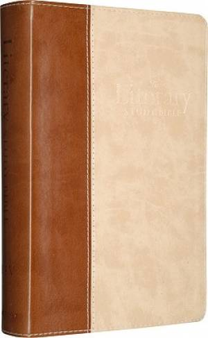 ESV Literary Study Bible: Brown/Parchment, Archive Design, TruTone