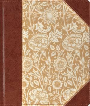ESV Journaling Bible: Antique Floral Design, Bonded Leather