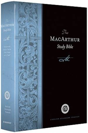 The ESV MacArthur Study Bible: Hardcover