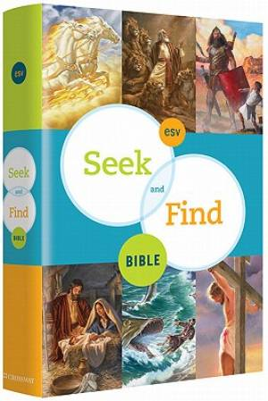 ESV Seek and Find Bible: Hardback