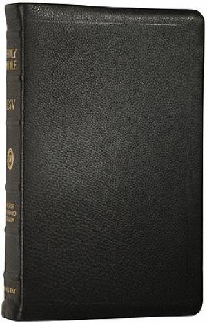 New Classic ESV Reference Bible (Black)