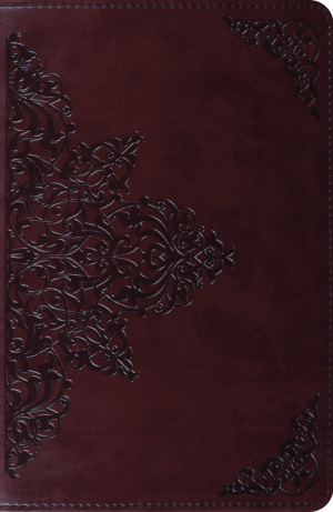 ESV New Classic Reference Bible : Brown Imitation Leather