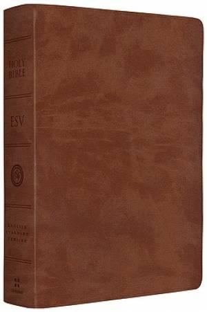 ESV Giant Print Bible: Brown, TruTone