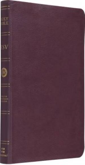 ESV Gift Bible: Burgundy, TruTone