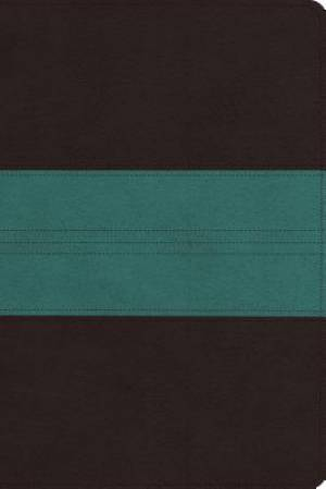 ESV Personal Reference Bible (TruTone, Dark Brown/Teal, Trail Design)