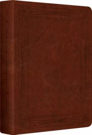 ESV Journaling Bible Brown Imitation Leather Single Column