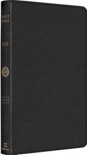 ESV Heirloom Thinline Goatskin Black