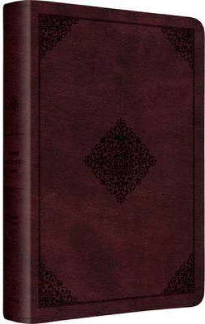 ESV Gospel Transformation Bible (TruTone Mahogany, Ornament Design)