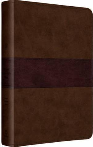 ESV Gospel Transformation Bible Brown Imitation Leather