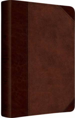 ESV Gospel Transformation Bible (TruTone Brown/Walnut, Portfolio)