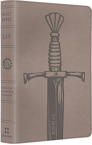 ESV Kids Compact Bible: Silver Sword, LeatherLike