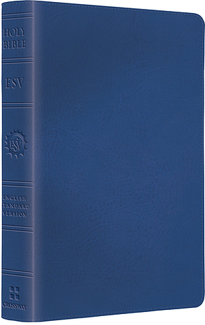 ESV Kids Compact Bible: True Blue, LeatherLike