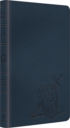 ESV Kids Thinline Bible: Slate Armour, LeatherLike