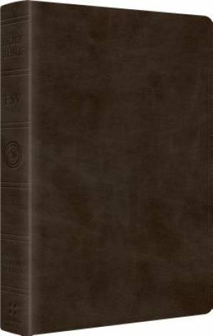 ESV Wide Margin Reference Bible Imitation Leather Olive