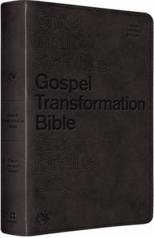 ESV Gospel Transformation Black Imitation Leather