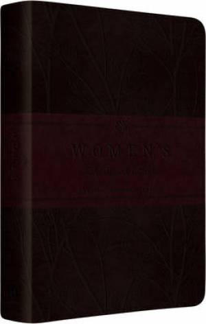 ESV Womens Devotional Burgundy Imitation Leather