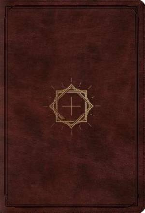 ESV Student Study Bible (Trutone, Mahogany, Crown And Cross