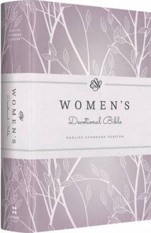 ESV Womens Devotional Bible Purple Hardback