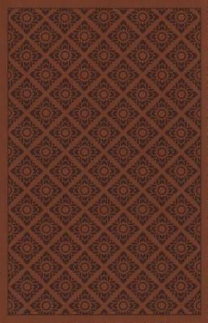 ESV Holy Bible, Value Edition (TruFlat, Sienna, Flower Print Design)