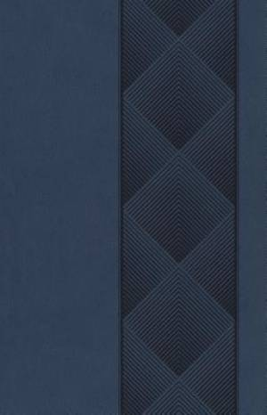 ESV Holy Bible, Value Edition (TruFlat, Navy, Diamondback Design)