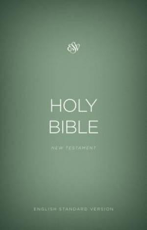 ESV Outreach New Testament (Paperback, Green)