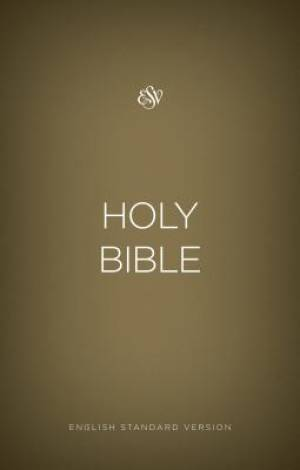 ESV Outreach Bible (Paperback, Gold)