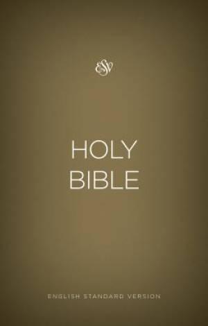 ESV Outreach Bible (Paperback, Gold)