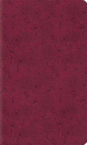 ESV Thinline Bible (TruTone, Pink Petals)