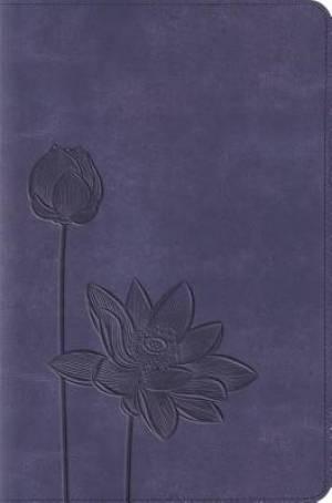 ESV Compact Bible (TruTone, Lavender Bloom)