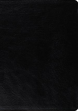 Esv Macarthur Study Bible, Large Print (Black)