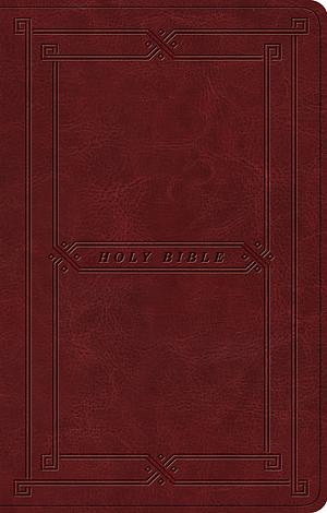 ESV Premium Gift Bible (TruTone, Cordovan, Vintage Frame Des