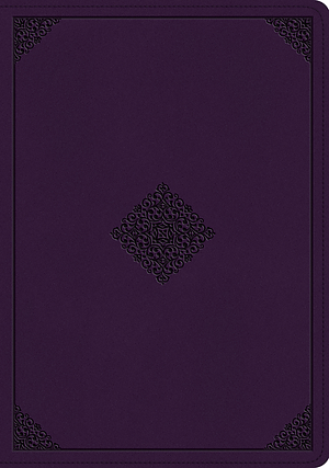 ESV Study Bible (TruTone, Lavender, Ornament Design)