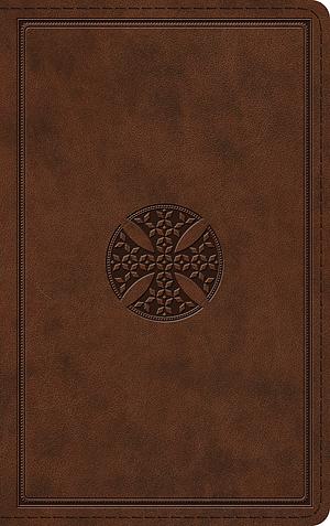 ESV Thinline Bible (TruTone, Brown, Mosaic Cross Design)
