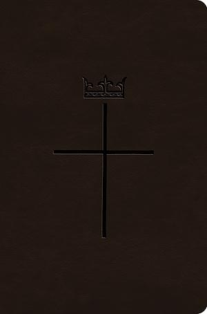 ESV Value Compact Bible (TruTone, Deep Brown, Royal Cross Design)