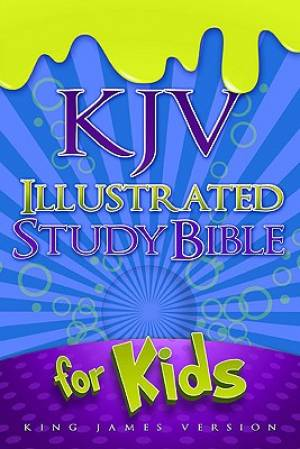 Kjv Illustrated Study Bible Blue