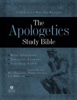 HCSB Apologetics Study Bible Mahogany Imitation Leather