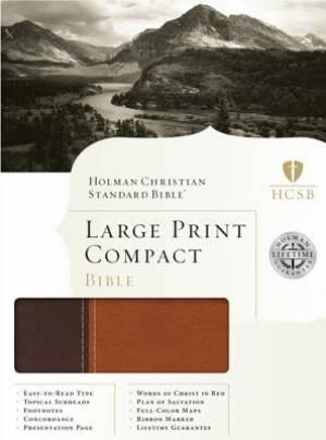 Holman HCSB Large Print Compact Bible