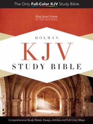 Kjv Study Bible Blue Taupe Lthlk
