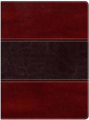 Nkjv Study Bible, Mahogany Leathertouch