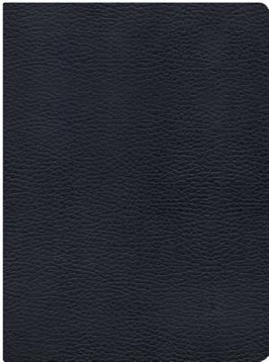 Nkjv Study Bible, Black Genuine Leather Indexed