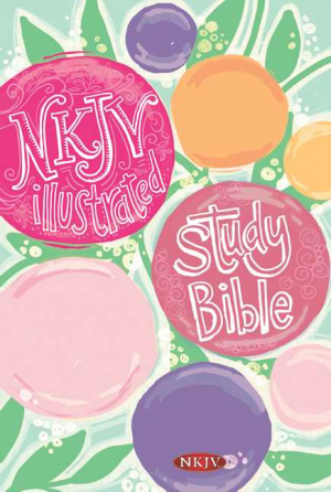 NKJV Illustrated Study Bible For Girls Hardback