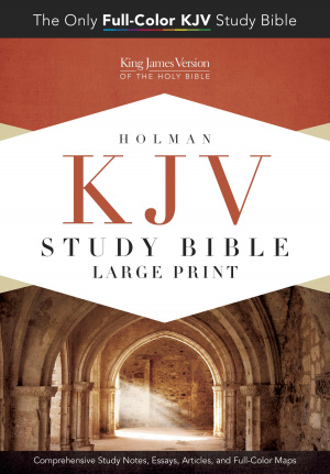 Kjv Study Bible Large Print Edition, Hardcover
