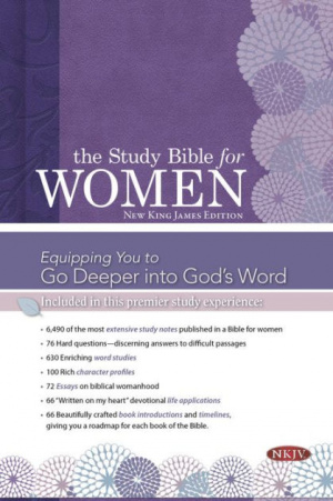NKJV  Study Bible For WomenEdition, Printed Hardcover, The