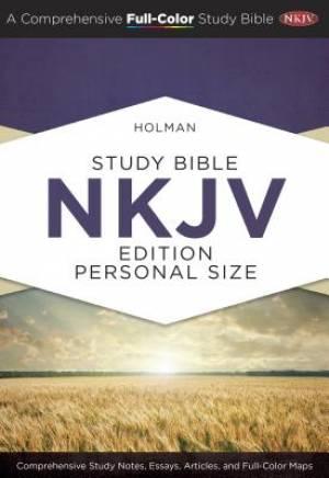 Holman Study Bible: NKJV Edition Personal Size