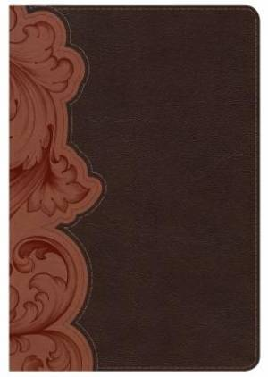 Kjv Study Bible Personal Size, Dark Umber/Sienna Leathertouc