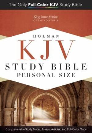 Kjv Study Bible Personal Size, Hardcover Indexed