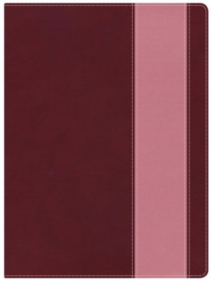 NKJV Holman Study Bible Crimson Coral Leather