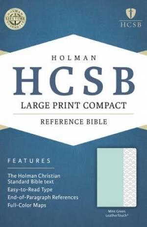 Large Print Compact Bible - HCSB